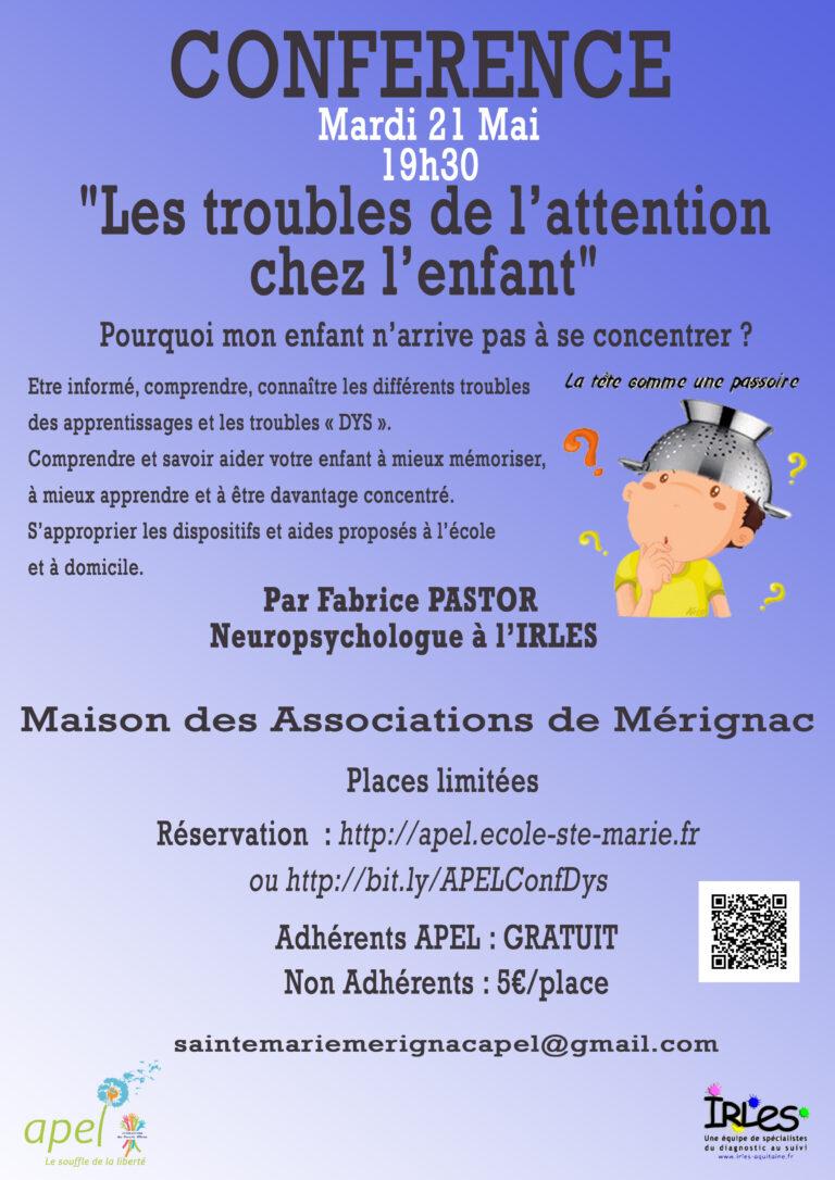 Affiche Conférence Concentration5